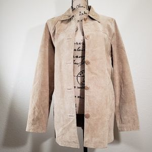 MOVING SALE! Moda International 100% Suede Coat